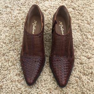 MATISSE WOVEN SHOES